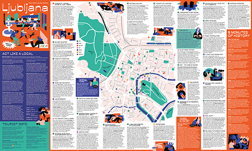 Download Ljubljana City Map